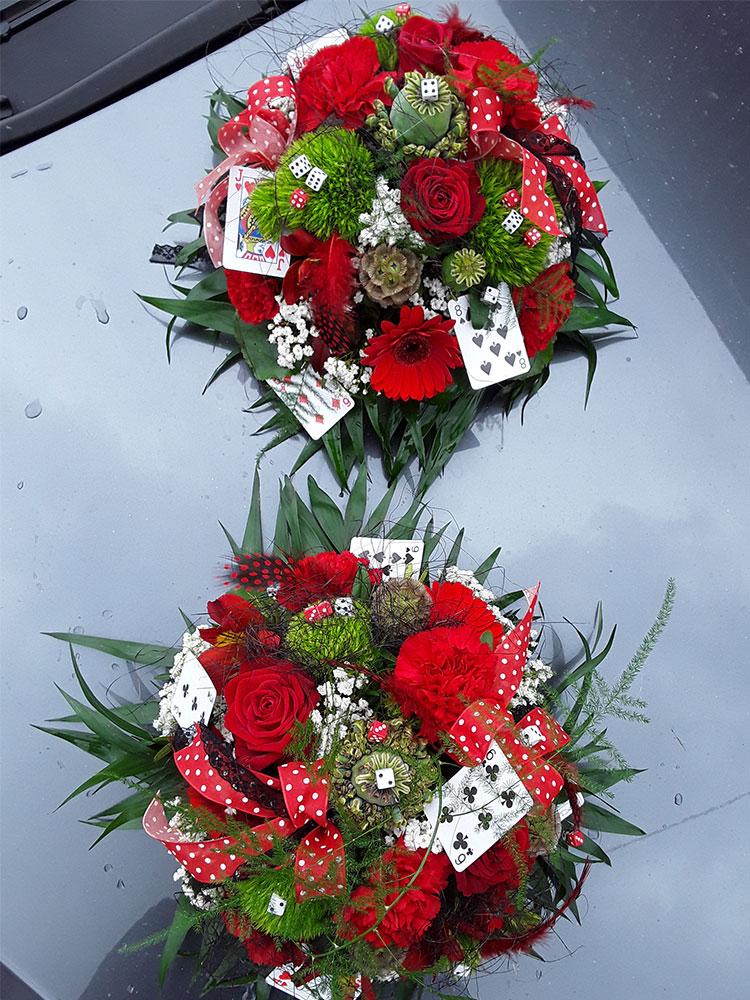 Autodekoration Hochzeit 04