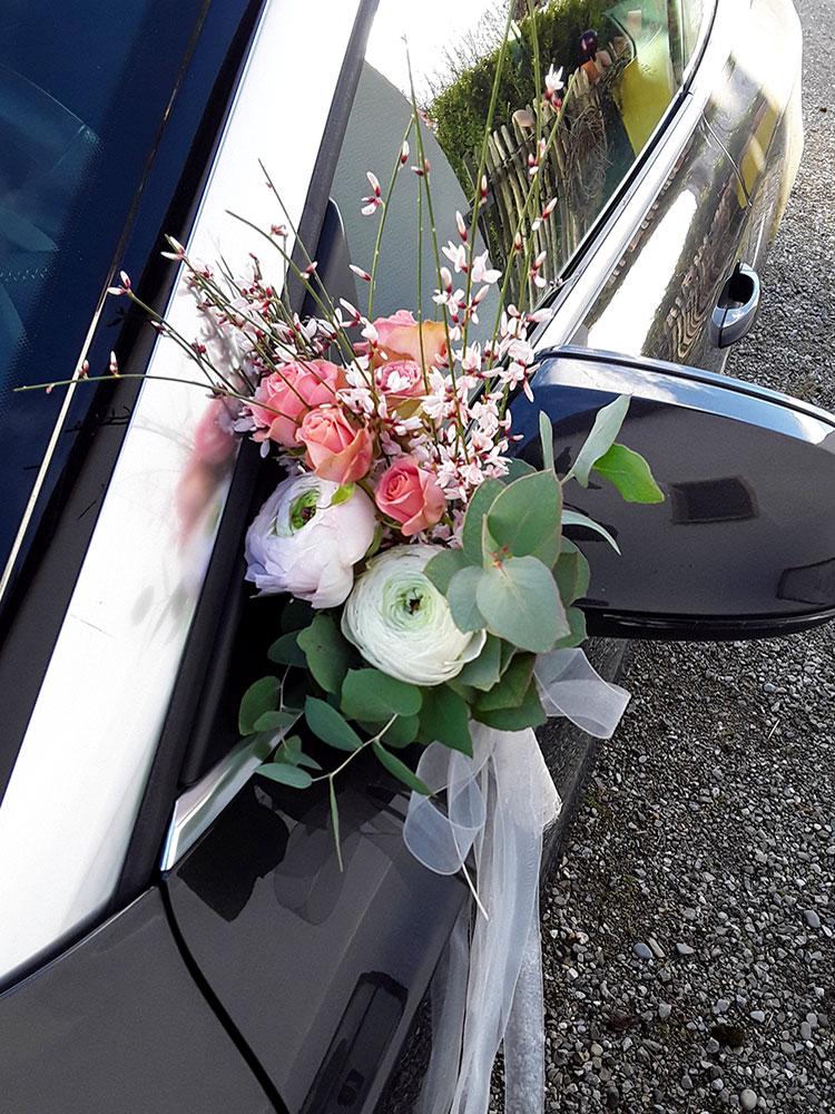 Autodekoration Hochzeit 08